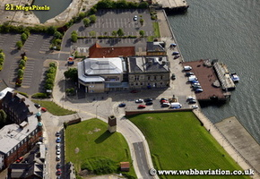 Customs House South Shields   aerial photograph