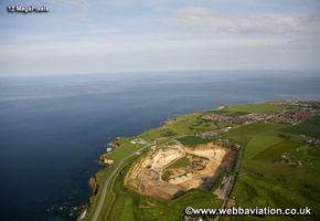 Whitburn Quarry South Shields   aerial photograph