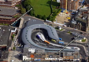 Park Lane Interchange Sunderland aerial photograph