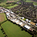 Arden Forest Industrial Estate, Alcester, Warwickshire.  from the air