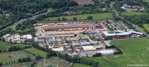 Plot Holly Lane Industrial Estate  Atherstone aerial photograph