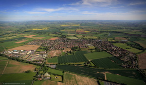 Bidford-on-Avon  from the air