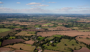 Bourton-on-Dunsmore  Warwickshire aerial photograph