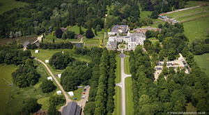 Coombe Abbey  Warwickshire  from the air