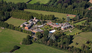 Dunchurch Park Hotel , Warwickshire from the air