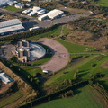 British Motor Museum Gaydon from the air