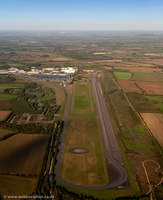 test track at  former RAF Gaydon   from the air