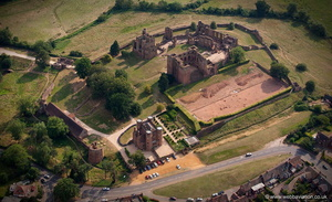 Kenilworth Castle aerial photograph