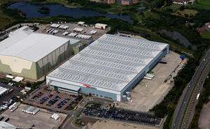 Unipart Logistics Nuneaton  from the air