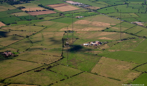 Rugby Radio Station Warwickshire  from the air