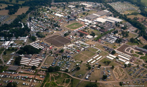 Royal Show by the Royal Agricultural Society of England Stoneleigh  from the air