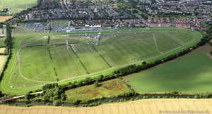 Stratford On Avon Racecourse  from the air