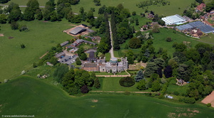 Studley Castle from the air