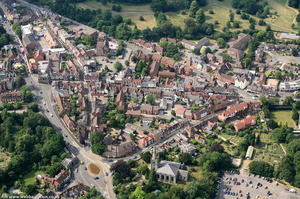 Smith Street Warwick from the air