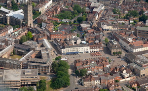 Warwick from the air