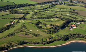Whitefields Golf Course Warwickshire aerial photograph