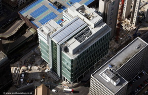 1 Snowhill Birmingham from the air