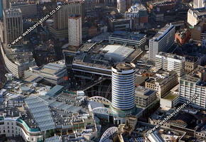 Birmingham West Midlands aerial photograph