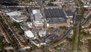 Lucas Factory at Acocks Green Birmingham from the air