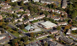 Bartley Green Birmingham from the air