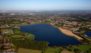 Bartley Reservoir from the air