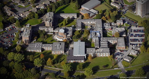 Newman University, Birmingham from the air