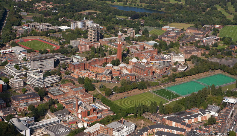 Birmingham University  from the air