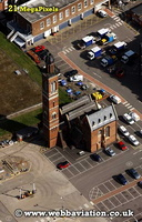 Edgbaston Pump House Birmingham University Edgbaston  Birmingham West Midlands aerial photograph