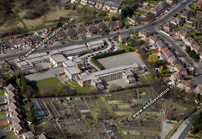 Handsworth Birmingham West Midlands aerial photograph