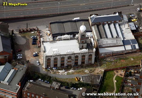 GurdwaraBabe Ke Birmingham West Midlands aerial photograph