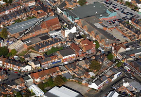 Kings Heath   Birmingham West Midlands aerial photograph