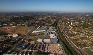Longbridge Town Centre  from the air