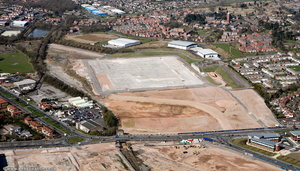 Former Mini Metro Factory - New West Works   Longbridge  from the air