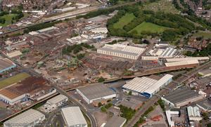 Smethwick Birmingham from the air