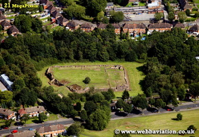 Weoley Castle Birmingham West Midlands aerial photograph
