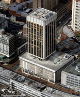 Centre City Tower Birmingham from the air