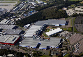 National Exhibition Centre , NEC   Birmingham West Midlands aerial photograph
