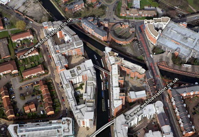 Ladywood Junction  Birmingham West Midlands aerial photograph
