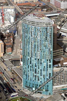 10 Holloway Circus /  the Holloway Circus Tower /  Beetham Tower   Birmingham West Midlands aerial photograph