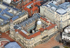 Birmingham City Council House Birmingham West Midlands aerial photograph