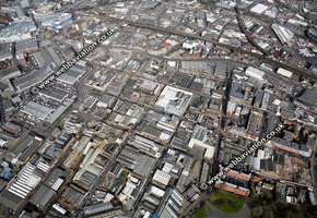 Digbeth   Birmingham West Midlands aerial photograph