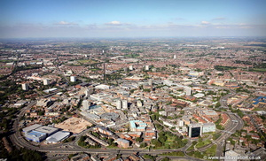Coventry West Midlands aerial photograph
