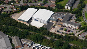 Wayside Business Park, Wilsons Ln, Coventry CV6 6NY from the air