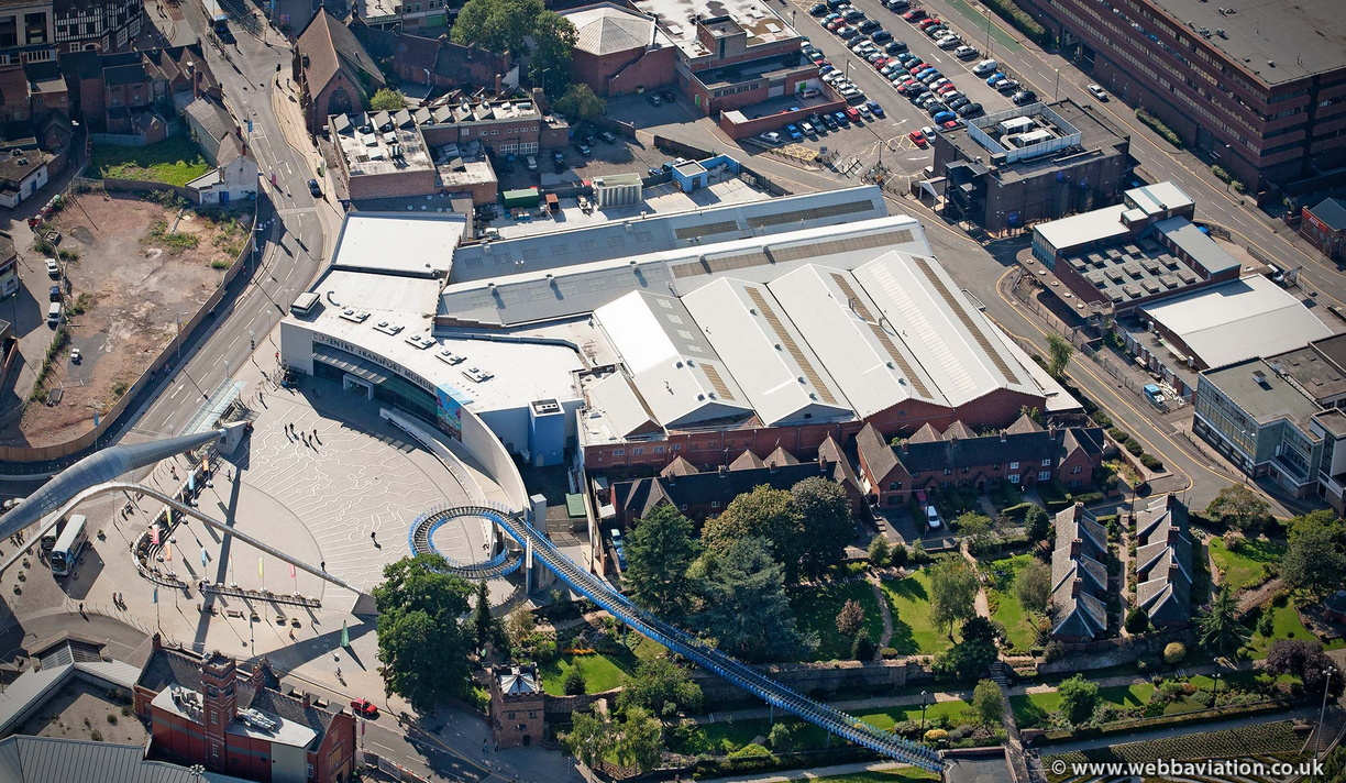 Coventry  Transport Museum Coventry West Midlands aerial photograph