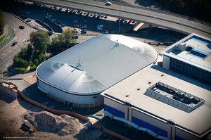 The Coventry Skydome, Coventry from the air