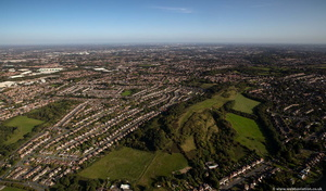 Beacon Hill, Sedgley from the air