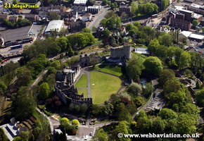 Dudley Castle Dudley West Midlands aerial photograph
