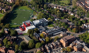 Dudley College Advance from the air