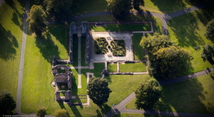 Dudley Priory from the air