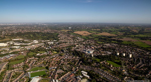 Halesowen from the air
